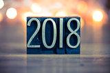 2018 Concept Metal Letterpress Type