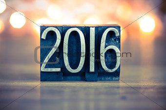2016 Concept Metal Letterpress Type