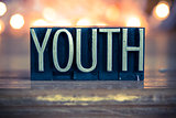 Youth Concept Metal Letterpress Type