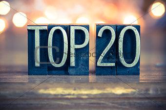 Top 20 Concept Metal Letterpress Type