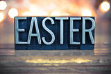 Easter Concept Metal Letterpress Type