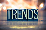 Trends Concept Metal Letterpress Type