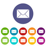 Mail flat icon