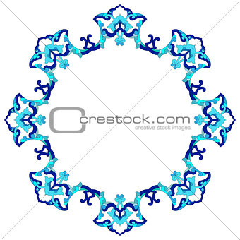 artistic ottoman pattern series eighty eight