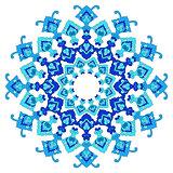 artistic ottoman pattern series eighty five