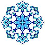 artistic ottoman pattern series eighty four