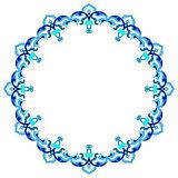 artistic ottoman pattern series eighty nine