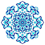 artistic ottoman pattern series eighty seven