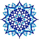 artistic ottoman pattern series eighty six