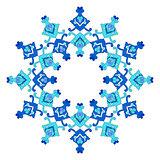 artistic ottoman pattern series eighty three
