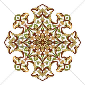 artistic ottoman pattern series ninety three