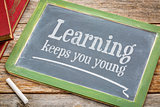 learning keeps you young on blackboard