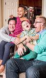 Gay Parents Tickling Their Children