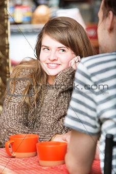 Flirting with Man