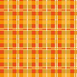 Orange seamless texture plaid