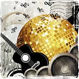 Grunge party design