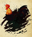Grunge Rooster