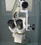 Hi-tech microscope in an operating room
