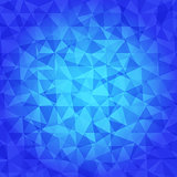 Abstract Triangle Geometrical blue tones Background