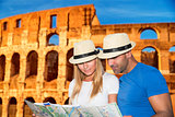 Romantic vacation in Rome