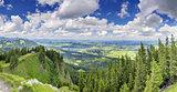 Panorama View Alpspitze Nesselwang