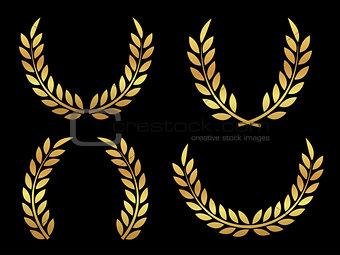 Gold award laurels