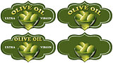 Collection of Olive Oil Labels
