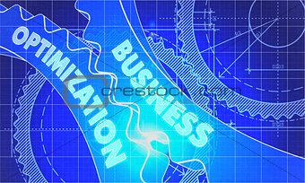 Business Optimization on the Cogwheels. Blueprint Style.