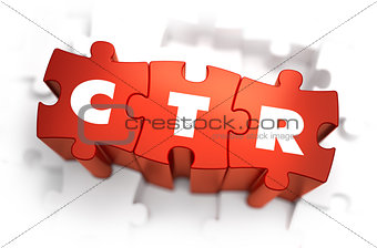 CTR - White Word on Red Puzzles.