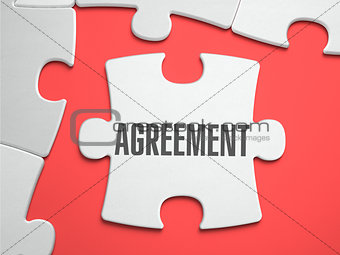Agreement - Puzzle on the Place of Missing Pieces.