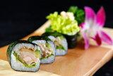 Maki tuna sushi