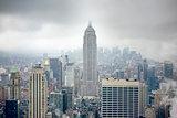 New York at a rainy day