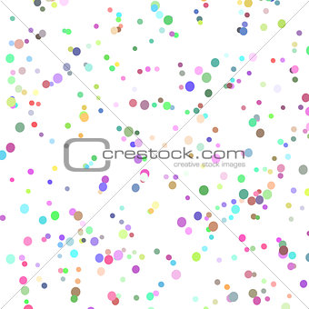 background with many tiny bright pieces, vector illustration