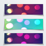 Red Christmas vector banners , design for Your website or advertising.