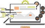 vector - coding