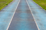 Blue Track