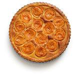 apricot tart, tarte aux abricots