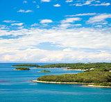 Mediterranean Coast. Landscape in Croatia