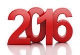 3d New Year 2016