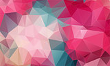 Vintage Two-dimensional  colorful background