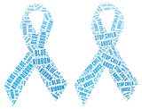 Blue Ribbon campaign - Stop Child Abuse