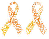 Orange ribbon campaign - Multiple Sclerosis campaign