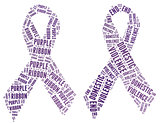 Purple Ribbon campaign - Stop Domestic Violence campign