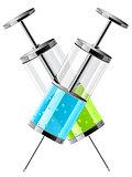 glass medical syringes