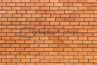 Clear brick wall