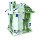 House euro from the money