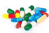 medicine concept. pills