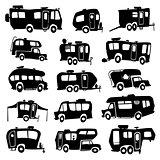 Recreational Vehicles Icons