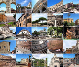 Rome in many pictures