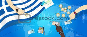 greece economy financial economic euro monetary